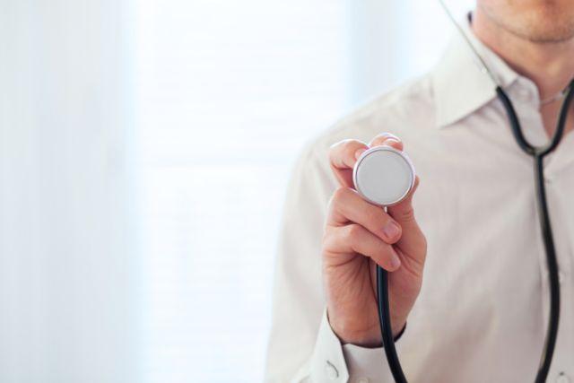 medical background, heart diagnostics